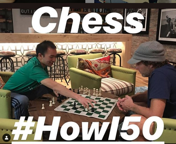 Jesse Itzler learns how to play chess