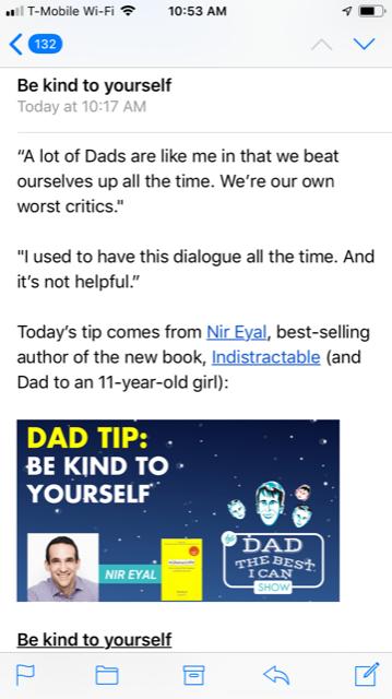Emal Dad Tip - Nir Eyal