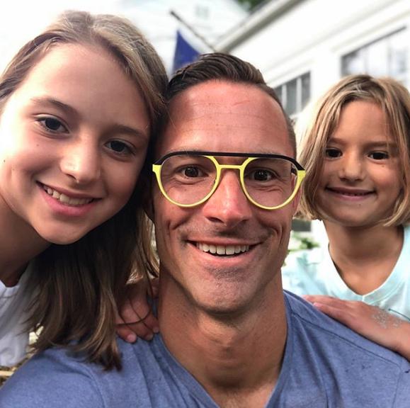 Chris Tuff and kids